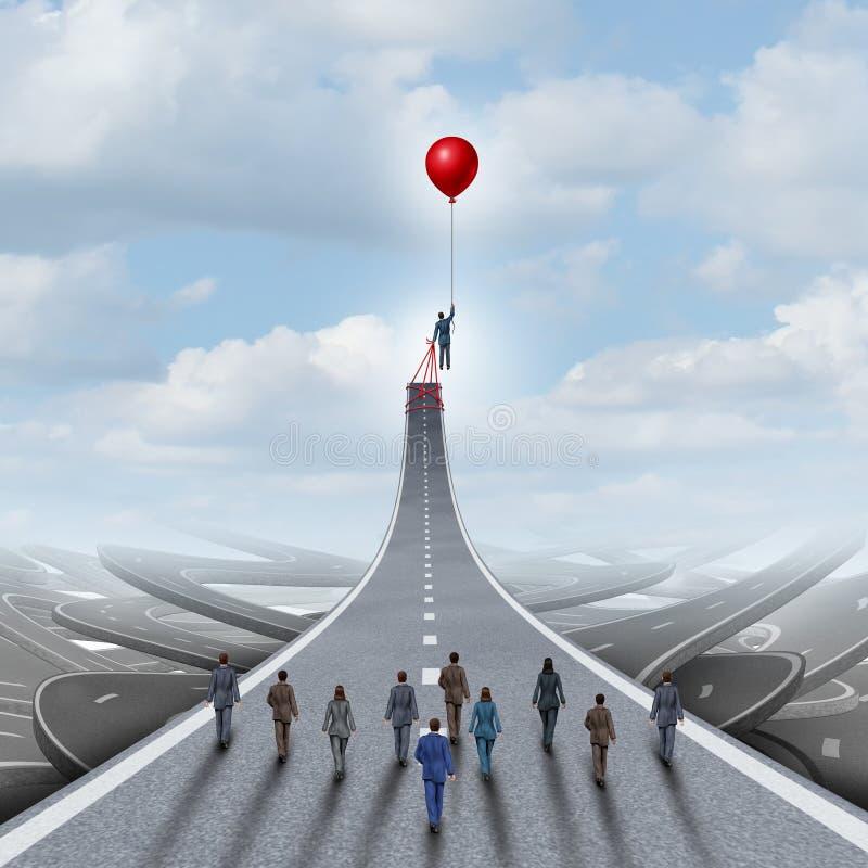 Concept d'ambitions illustration libre de droits
