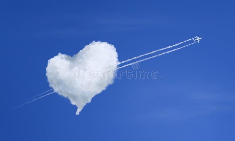 Concept d'amour illustration stock