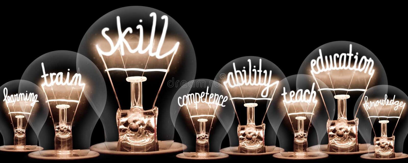 Concept d'ampoules images stock