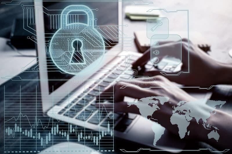 Concept d'antivirus images libres de droits