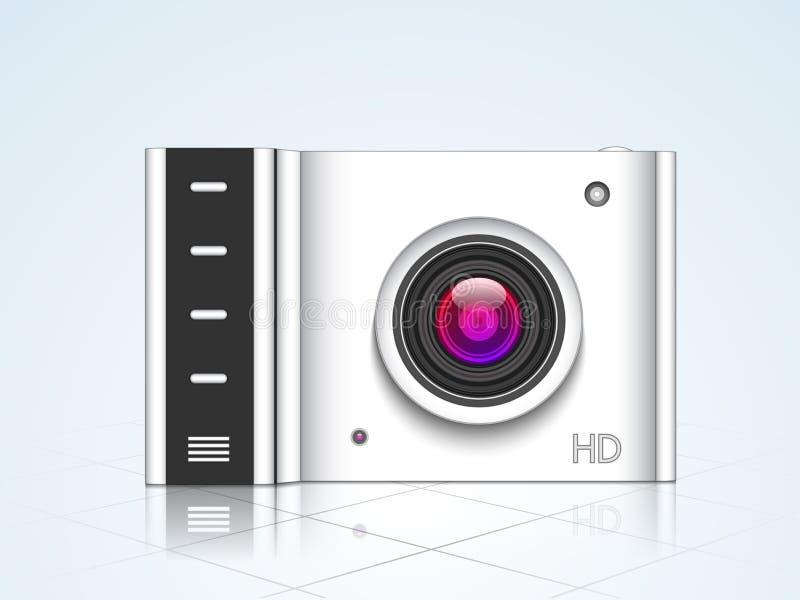 Concept d'appareil-photo pour la photographie illustration stock