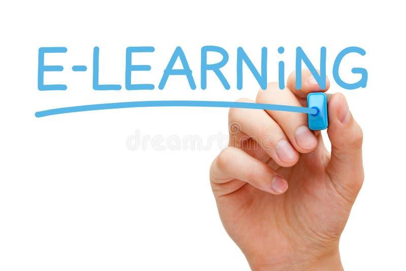 Concept d'apprentissage en ligne photo stock