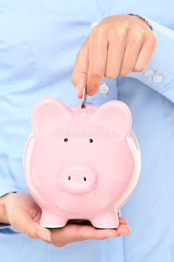 Concept d'argent de Piggybank photos stock