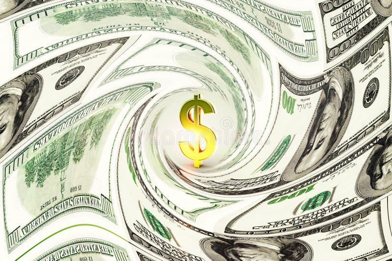 Concept d'argent et d'argent liquide illustration de vecteur