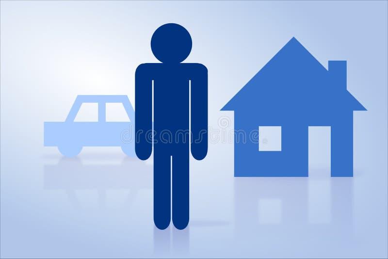 Concept d'assurance illustration de vecteur