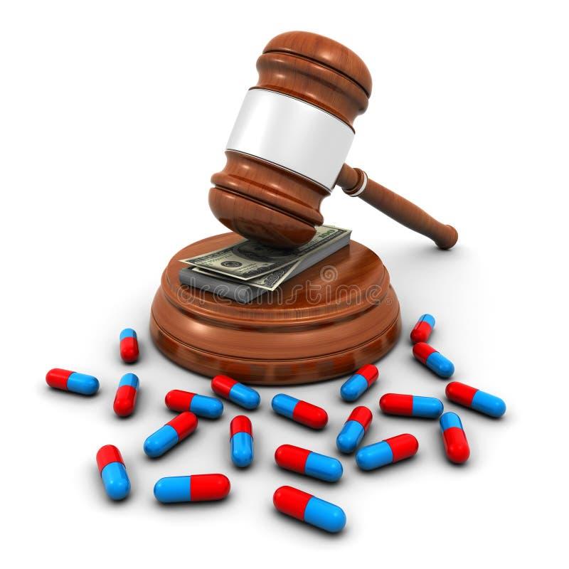 Concept d'assurance-maladie illustration libre de droits