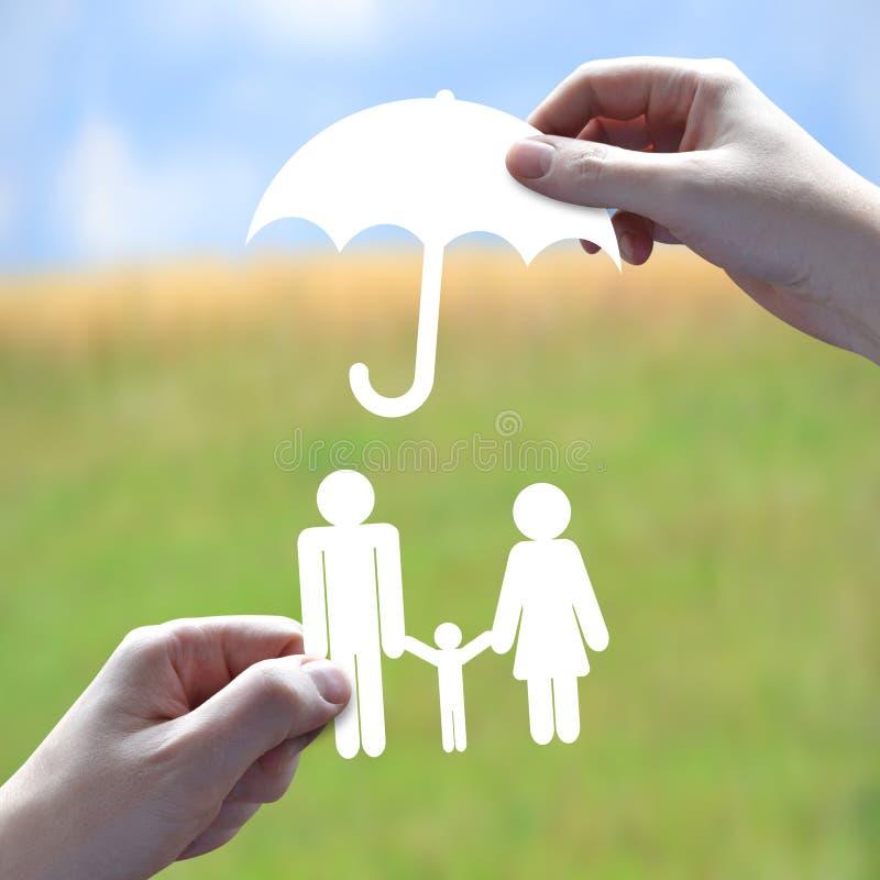 Concept d'assurance-vie photographie stock libre de droits
