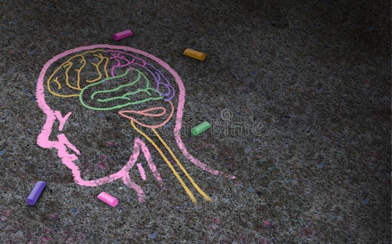 Concept d'autisme illustration libre de droits