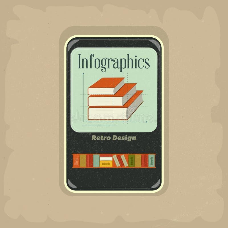 Concept d'Ebook illustration stock