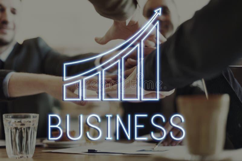 Concept d'entreprise commercial d'occasion d'affaires image libre de droits