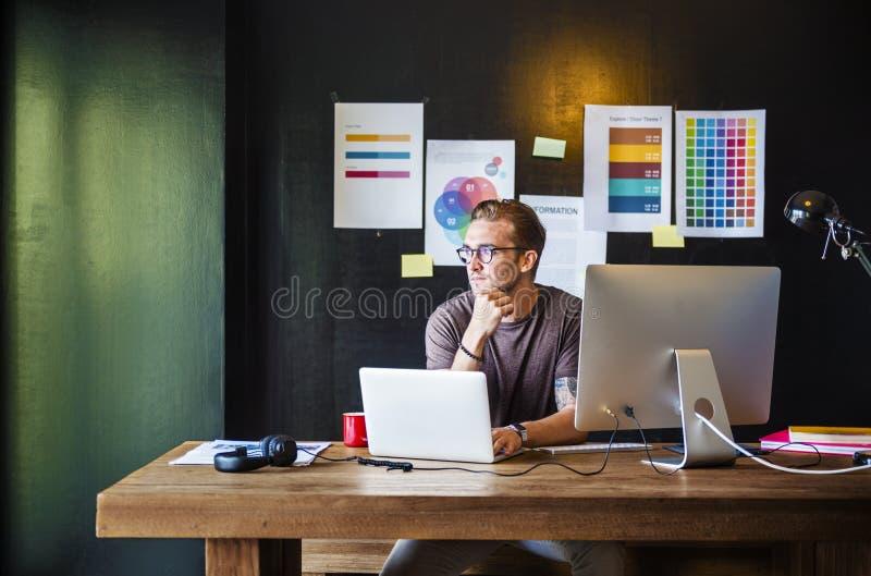 Concept d'entreprise de stratégie de ContemporaryCompany d'affaires photos libres de droits