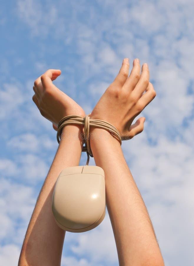Concept d'esclavage de bureau photo libre de droits