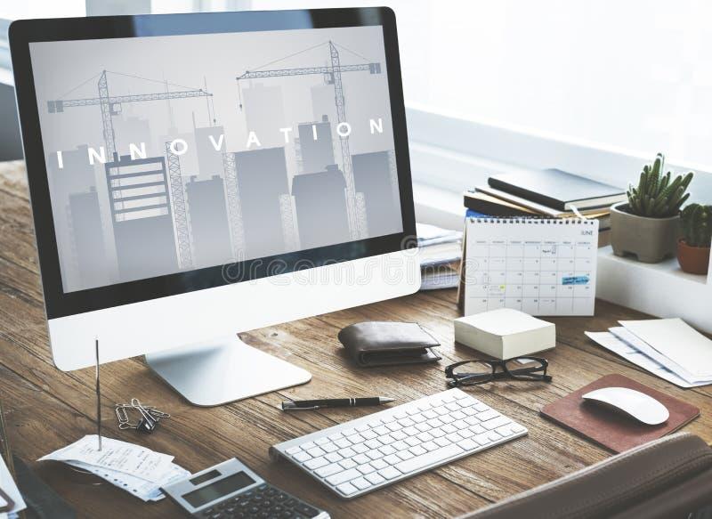 Concept d'expansion d'innovation de développement des affaires image stock