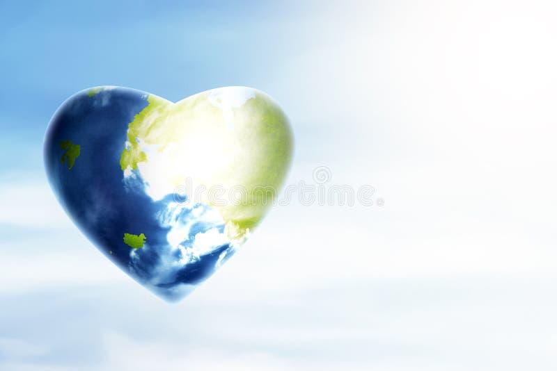 Concept d'heure de la terre illustration stock