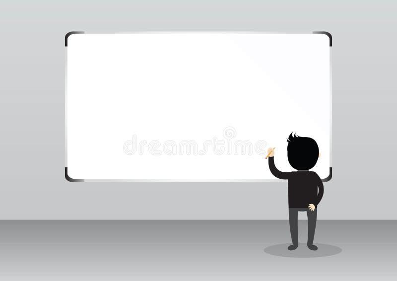Concept d'homme d'affaires illustration libre de droits