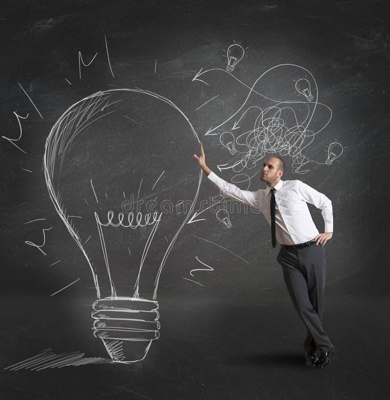 Idée créative d'affaires images stock