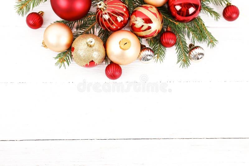 Concept d'humeur de Noël Fond de fête pendant des vacances d'hiver photographie stock