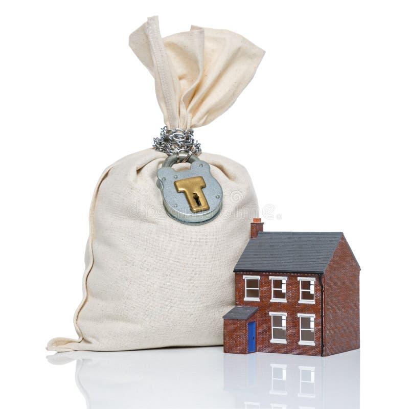 Concept d'hypothèque d'achat de maison photo libre de droits