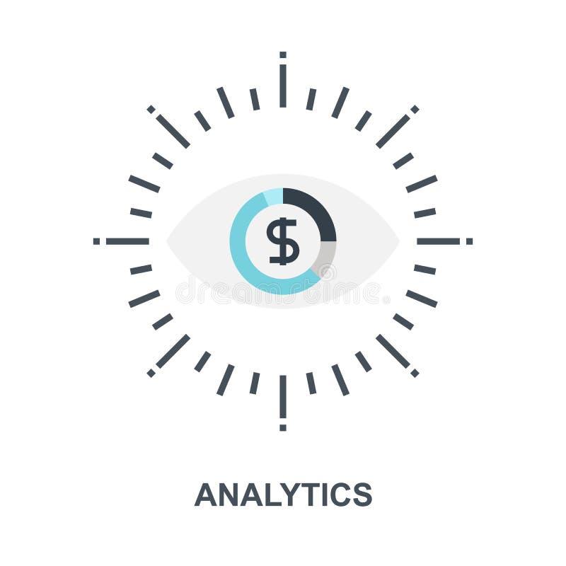 Concept d'icône d'Analytics illustration libre de droits