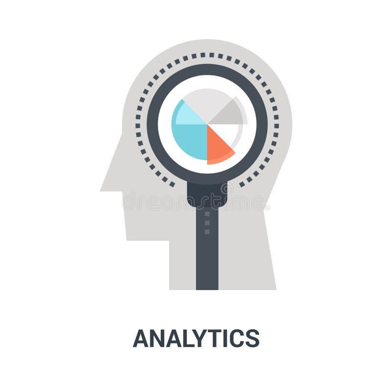 Concept d'icône d'Analytics illustration de vecteur