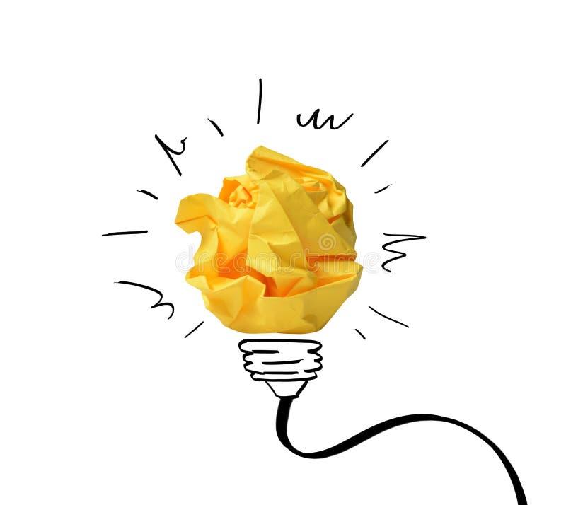 Concept d'idée avec les notes de papier images libres de droits