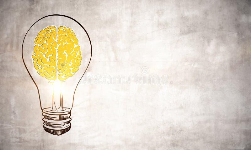 Concept d'idée et d'échange d'idées images libres de droits