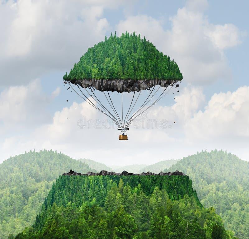 Concept d'imagination illustration stock