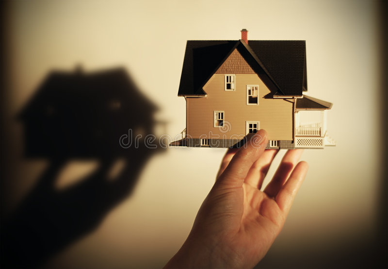 Concept d'immeubles photographie stock