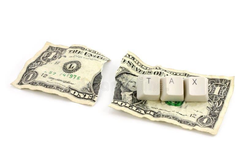 Concept d'impôt images libres de droits