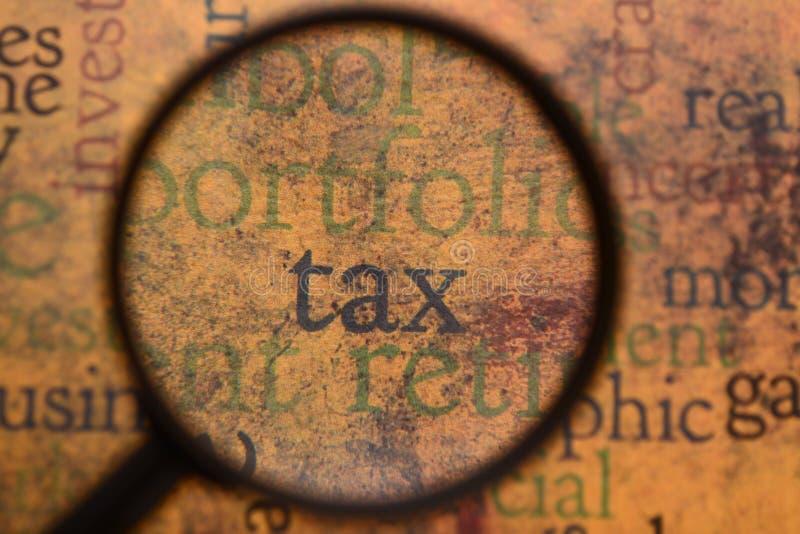 Concept d'impôts photographie stock