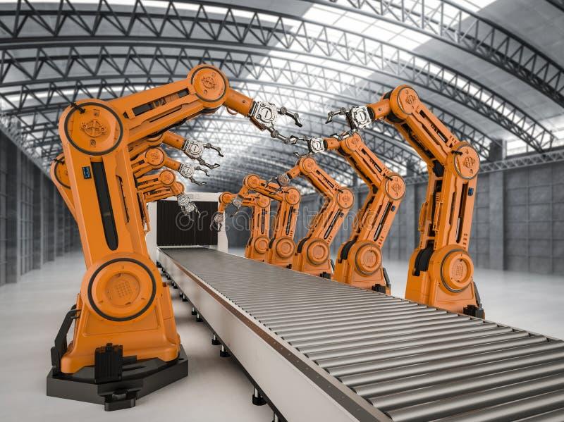 Concept d'industrie d'automation illustration libre de droits