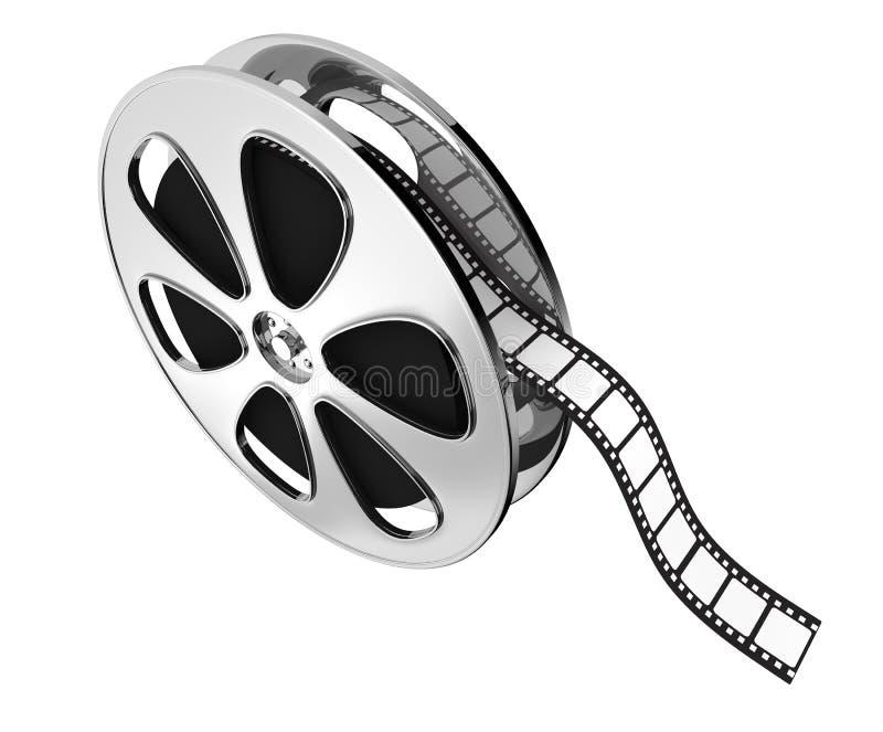 Concept d'industrie cinématographique illustration stock