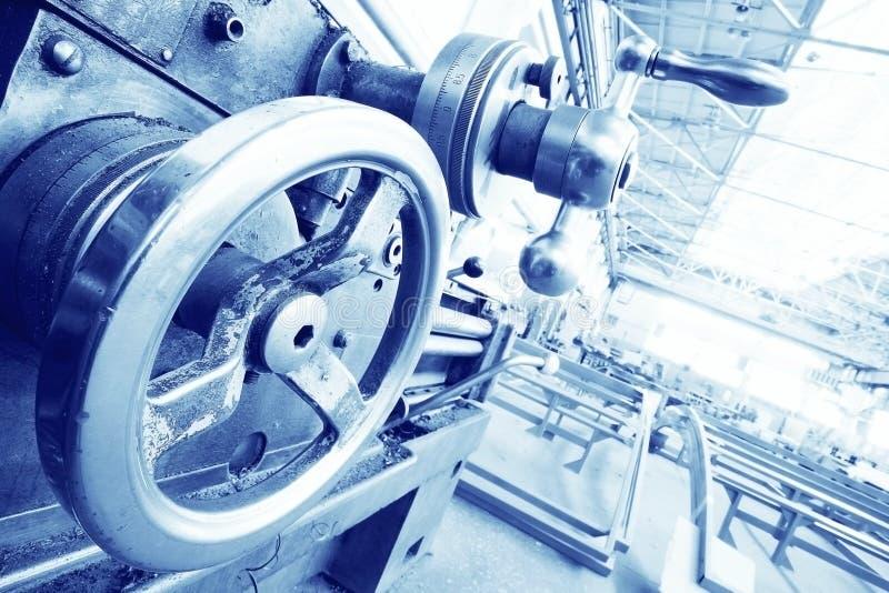 Concept d'industrie dans le ton froid image stock