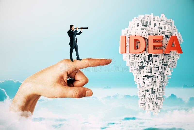 Concept d'innovation et d'avenir image libre de droits