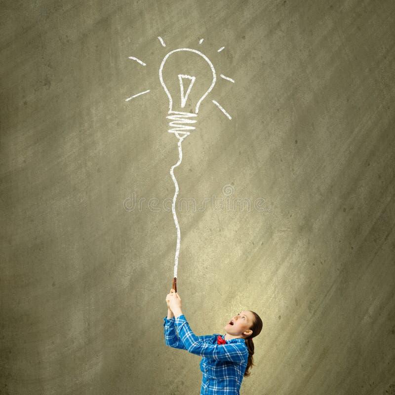 Concept d'inspiration image libre de droits