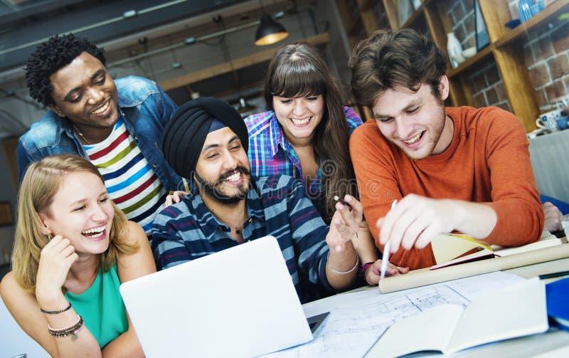 Concept d'intérieur de Teamwork Brainstorming Planning de concepteur image libre de droits