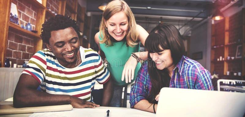 Concept d'intérieur de Teamwork Brainstorming Planning de concepteur photo stock