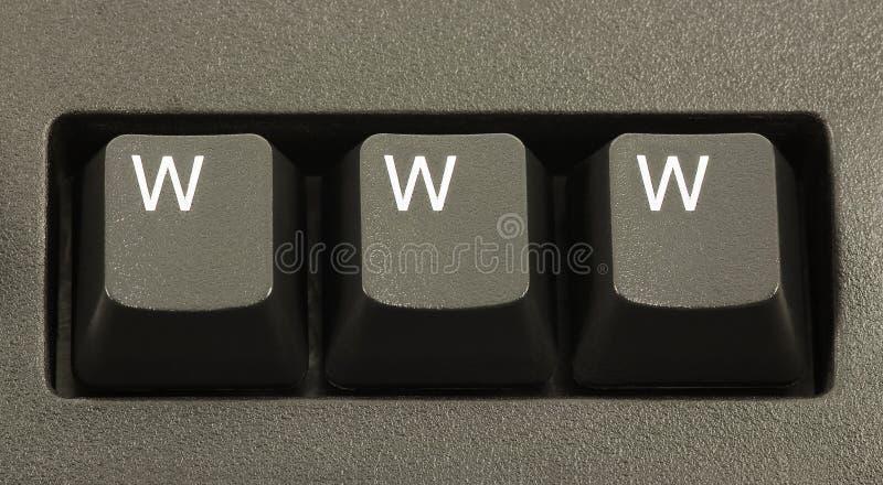 Concept d'Internet de WWW photographie stock