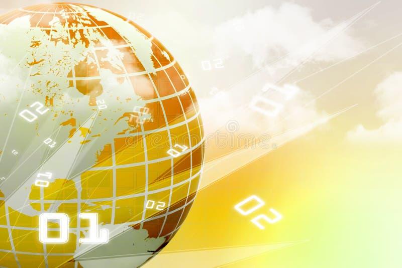 Concept d'Internet des affaires globales illustration libre de droits