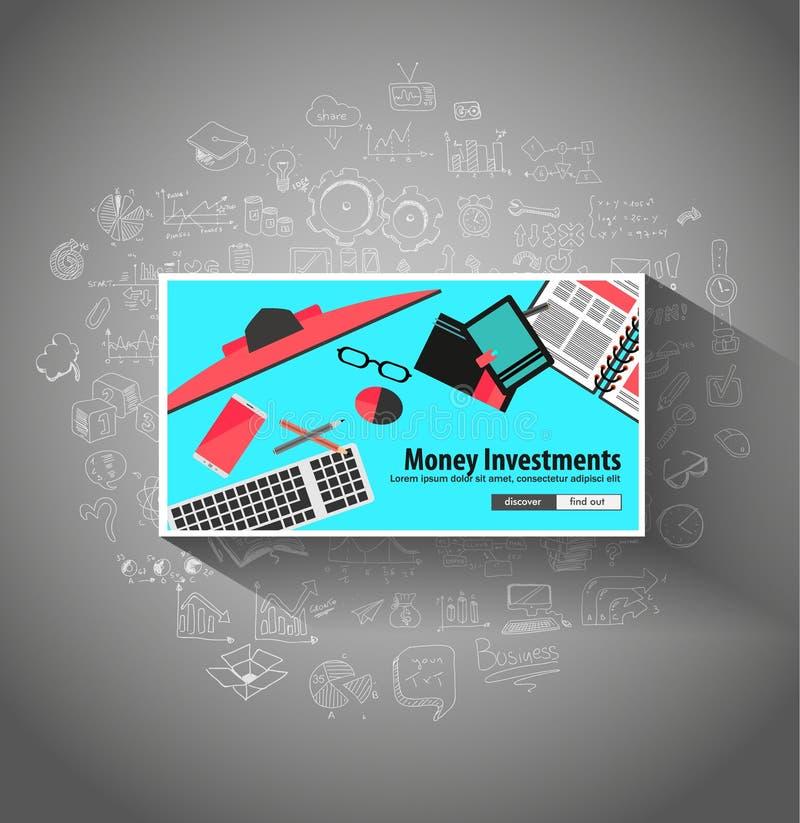 Download Concept D'investissement D'argent Avec La Solution D'économie De Style De Conception De Griffonnage Illustration de Vecteur - Illustration du graphique, griffonnages: 77151042