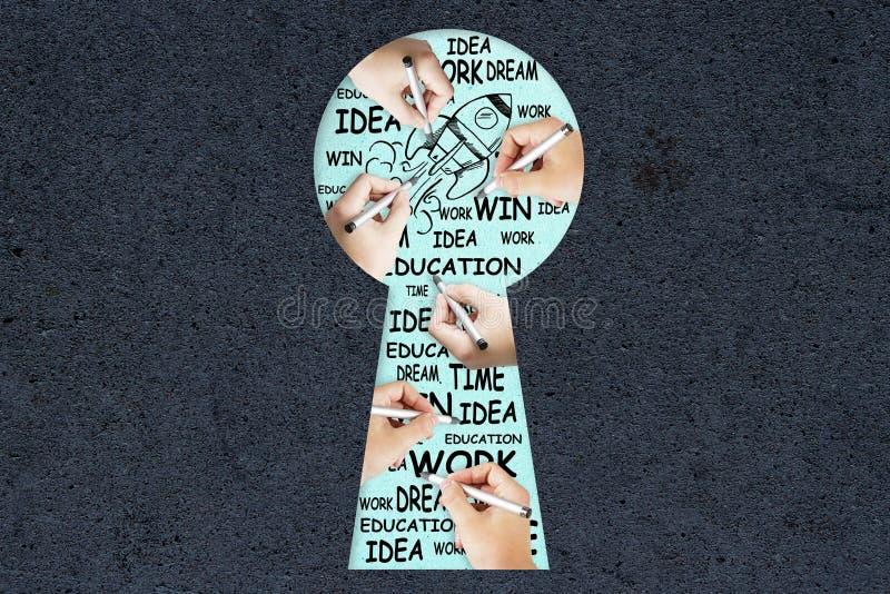 Concept d'occasion et de succès images libres de droits