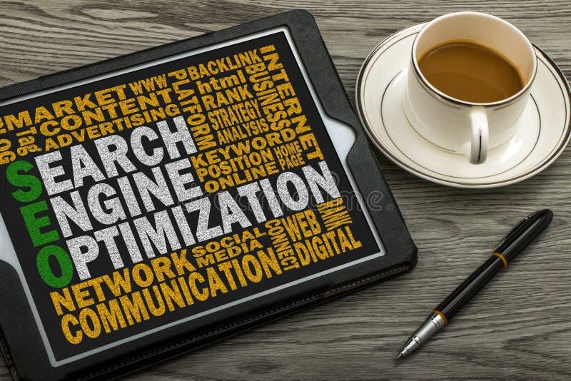 Concept d'optimisation de Search Engine photographie stock libre de droits