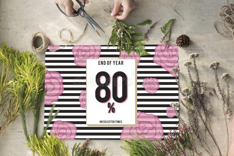 Concept de achat de promotion de Shopaholics de remise de vente photo stock