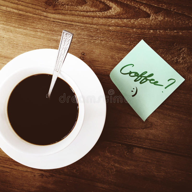 Concept de Beverage Relaxation Steam de barman de caféine de café image stock