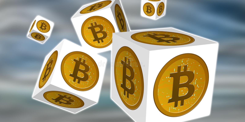 Concept de bitcoin illustration de vecteur