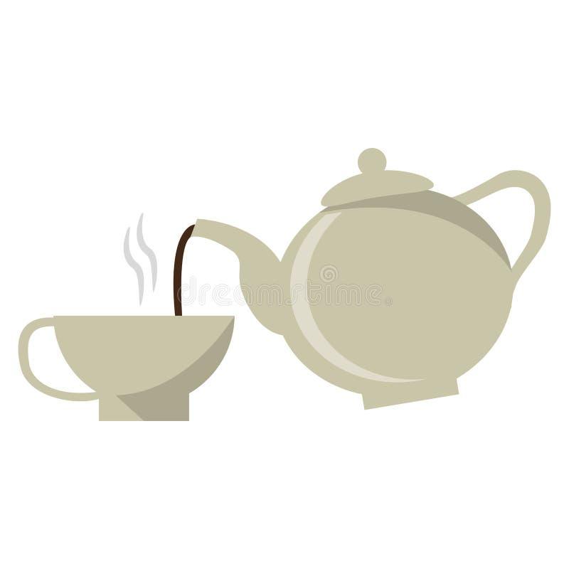 Concept de boissons de café illustration stock