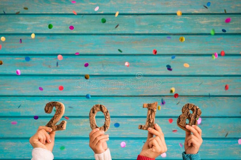 Concept 2018 de bonne année photos libres de droits