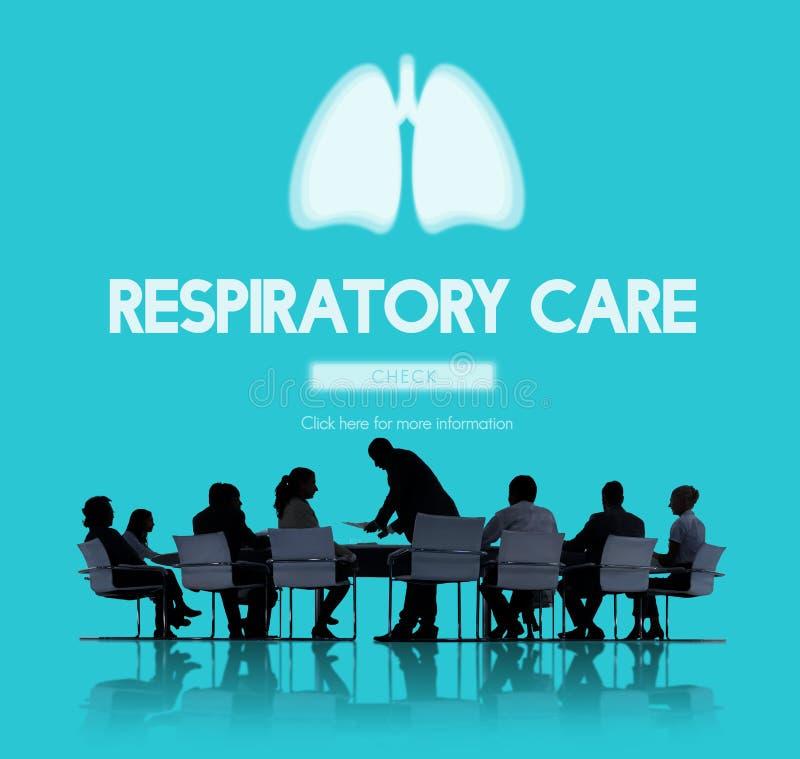 Concept de bronchite d'asthme de pneumonie de médecine de poumons images stock