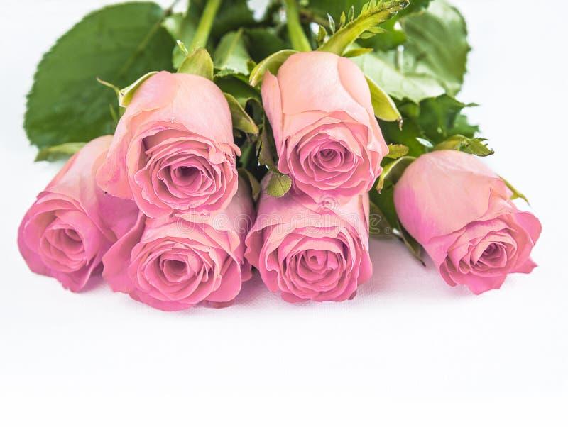 Concept de célébration : Beau bouquet des roses rouges photo libre de droits