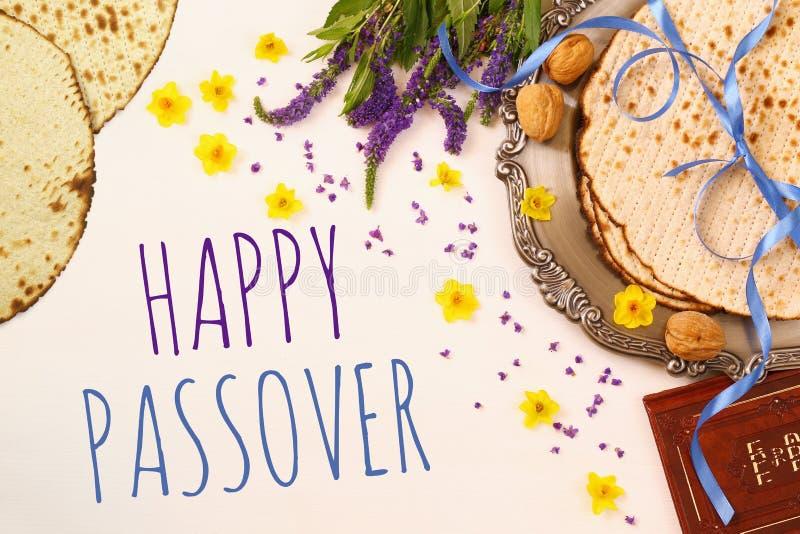 Concept de célébration de Pesah et x28 ; holiday& juif x29 de pâque ; images stock
